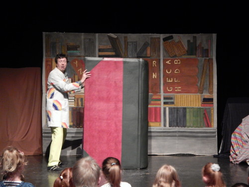 Big Book Tall Tales by Booster Cushion Theatre for Children